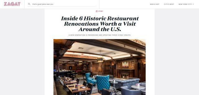 Historic Restaurants